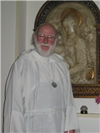 Fr. Hanns in the chapel