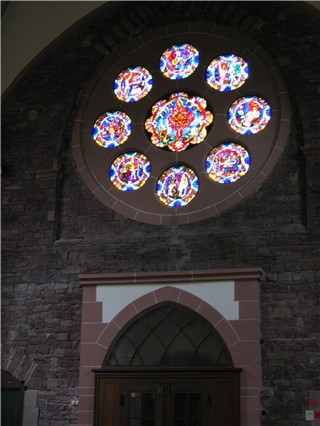 Rose Window - Old Catholic Church